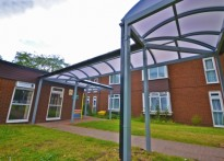 Hanover Way Sheltered Housing Unit - Free Standing Walkway