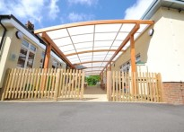 St Joseph's Catholic Primary School - Timber Canopy