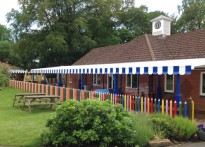 Longacre Preparatory School - Wall Mounted Canopy