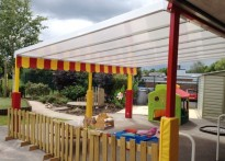 Sunrise Nursery - Wall Mounted Canopy