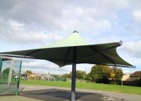 Manor Green School - Tensile Fabric Structure
