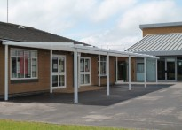 Swindon Village Primary School - 3rd Wall Mounted Canopy