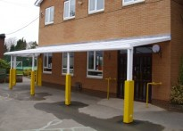 The Ryleys School - Wall Mounted Canopy