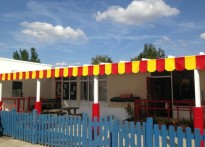 Icknield Infant & Nursery School - 3rd Wall Mounted Canopy