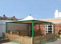 Boscombe Children's Centre - Tensile Fabric Structure