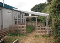The Orchard, Christ the King Neighbourhood Nursery - Wall Mounted Canopy