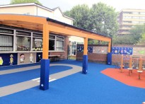 St George's Church of England Primary School - Timber Installation