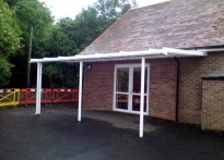 St Andrew's CE Aided Primary School  - Wall Mounted Canopy