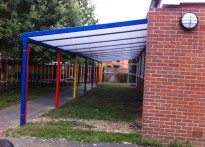 Westfield Primary School Second Canopy
