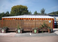 Our Lady & St Michaels Primary School - Wall Mounted Canopy