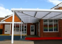 Meadow Vale School - 2nd Wall Mounted Canopy