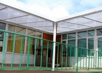 Meadow Vale School - 3rd Wall Mounted Canopy