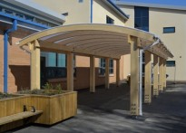 St James' Primary School - Free Standing Canopy
