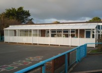 Portfield Special School - Wall Mounted Canopy