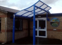 Hillside Primary School - Entrance Canopy