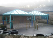 Alderbury & West Grimstead CE Aided Primary School - Free Standing Canopy
