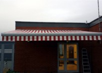 Sailsbury District Hospital - Commercial Awning