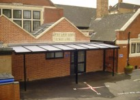 Holy Rood Catholic Infant School - Wall Mounted Canopies