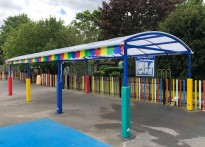 Liberty Primary School - Free Standing Canopy