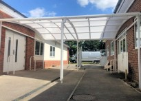 The Langley Academy - Free Standing Walkway Canopy