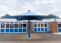 Brady Primary School - Permanent Umbrellas