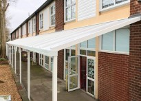 Uplands Manor Primary School - Wall Mounted Canopy