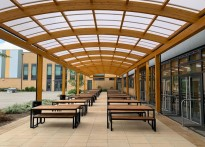 Eastbrook Primary School - Free Standing Timber Canopy