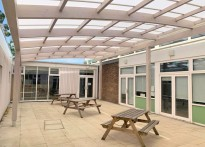 Maltese Road Primary School - Free Standing Timber Canopy