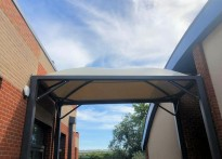 St Margaret Clitherow Primary School - Tensile Fabric Structure
