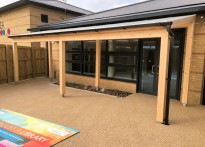 Hornsea Leisure Centre - Timber Canopies