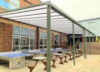 William Ellis School - Wall Mounted Canopies