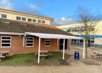 Shenfield High School - Wall Mounted Canopies