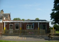 Irthington Village School - Wall Mounted Canopy