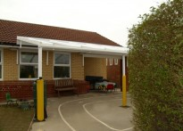 St Margaret Mary Catholic Primary School - Wall Mounted Canopy