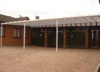 Oliver Tomkins CE VA Infant School - Wall Mounted Canopy