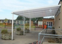 Penhill Primary School - Wall Mounted Canopy