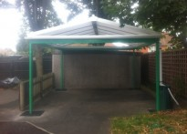 Harrington Nursery School - Free Standing Canopy