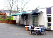 Lowick First School - Commercial Awning
