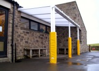 Whitley Chapel CE First School - Wall Mounted Canopy