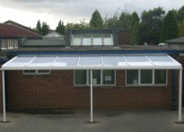 Thorn Grove Primary School - Wall Mounted Canopy