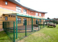 Wellesbourne Primary School - Wall Mounted Canopy