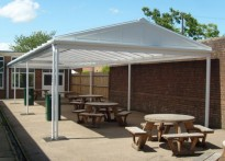 The Forest School - Free Standing Canopy