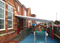 Acocks Green Primary School - Wall Mounted Canopy