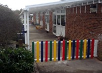 St Mary's CE Infant School - Wall Mounted Canopy