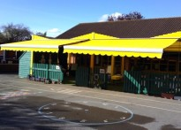 Westover Green Community School - Commercial Awning