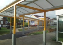Thundersley Primary School - Walkway Canopy