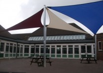 Manor Infant School - Shade Sails