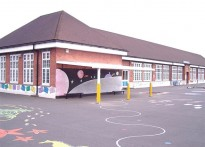 Richard Albion School - Wall Mounted Canopy