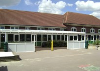 The James Cambell Infant School - Wall Mounted Canopy