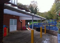 Seer Green Nursery - Wall Mounted Canopy